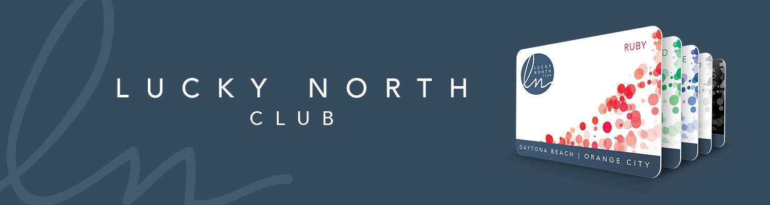 Lucky North Club Players Rewards Card