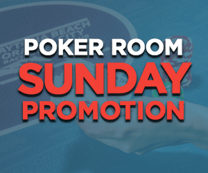 Sunday Poker Room Promotions at Orange City Racing & Card Club