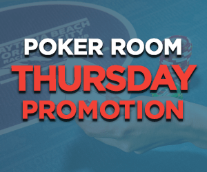 Thursday Poker Room Promotions at Orange City Racing & Card Club