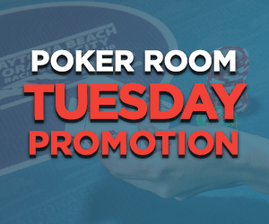 Tuesday Poker Room Promotions at Orange City Racing & Card Club