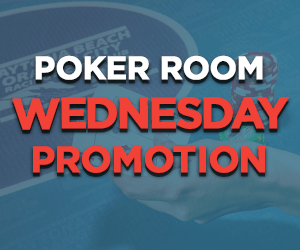 Wednesday Poker Room Promotions at Orange City Racing & Card Club