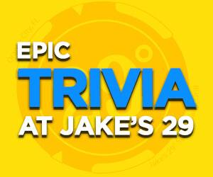 Epic Trivia Nights at Jake's 29, Orange City Racing & Card Club